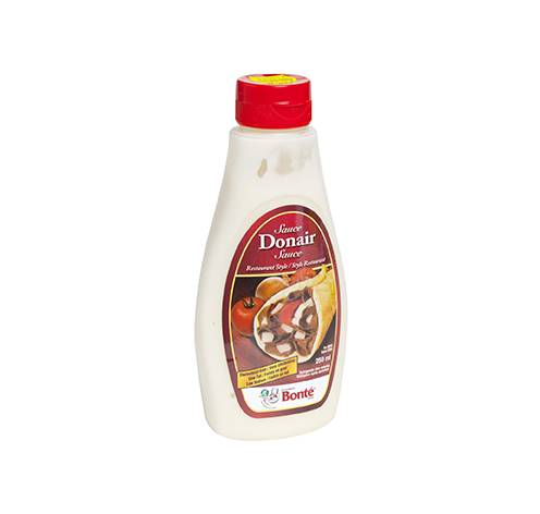 creamy squeezable donair sauce fixed weight 24x250ml
