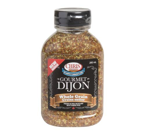 whole grain dijon mustard fixed weight 12x260ml bottles